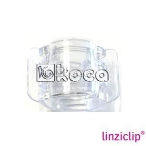 Иновативна щипка за коса Linziclip - Капка Роса  - средна - 3,5см x 5,5см x 3,5см