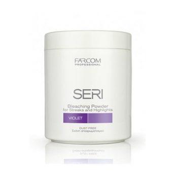 Seri Professional Bleaching Powder Violet- Суперизсветляващ лилав прах за коса [500гр]