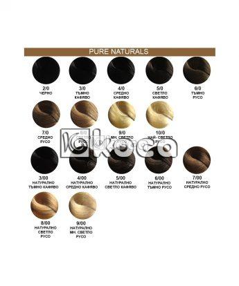 Wella Koleston Perfect - професионална боя за коса [60 мл] - натурални тонове
