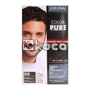 Lorvenn Color Pure - 30 Natural Black - Brown - Черно кафяво