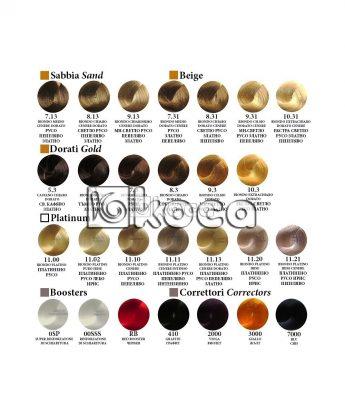Alfaparf Evolution - професионална боя за коса с хиалуронова киселина [60мл] - златни, бежови, платинени тонове, коректори