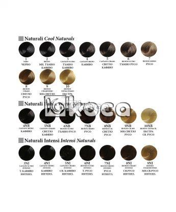 Alfaparf Evolution - професионална боя за коса с хиалуронова киселина [60мл] - натурални тонове