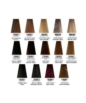 Bes HI-FI - професионална боя за коса  [100 мл] - нови тонове