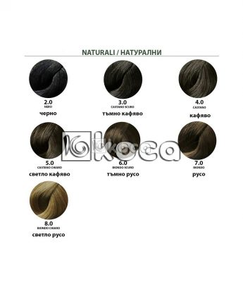 B. Life color  професионална боя за коса без амоняк [100 мл] - натурални тонове