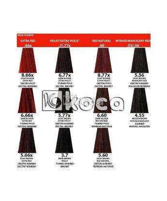 Indola Profession new - професионална боя за коса [60 мл] - червени, виолетови тонове