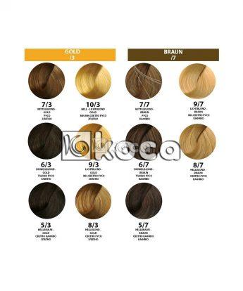 Londa Professional - професионална боя за коса [60 мл] - златни, кафяви тонове