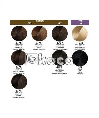 Londa Professional - професионална боя за коса [60 мл] - кафяво червени, перлени тонове
