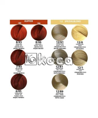 Londa Professional - професионална боя за коса [60 мл] - медно червени,специално руси тонове
