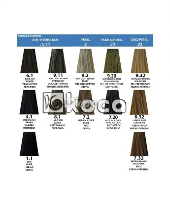 Indola Profession new - професионална боя за коса [60 мл] - пепеляви, перлени тонове