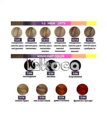 SensiDO професионална боя за коса [ 60 мл] - изсветляващи тонове, специални тонове за кичури