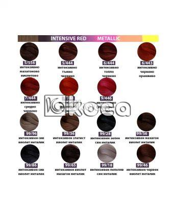 SensiDO професионална боя за коса [ 60 мл] - интензивно червени, металик тонове