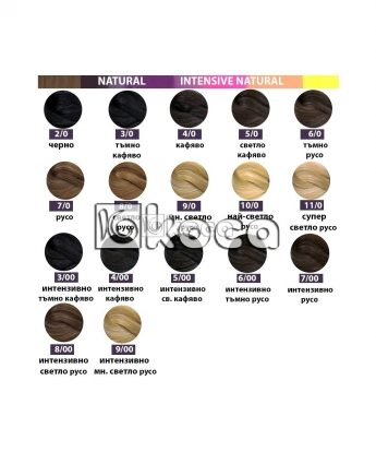 SensiDO професионална боя за коса [ 60 мл] - натурални тонове