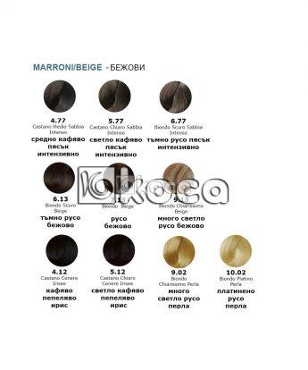 3DELUXE - професионална боя за коса  [100 мл] - кафяво пясъчни, бежови, перлени тонове