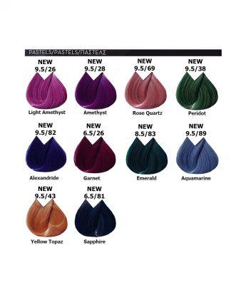 Beauty Color Lorvenn Paris - професионална боя за коса [70мл] - нови пастелни тонове