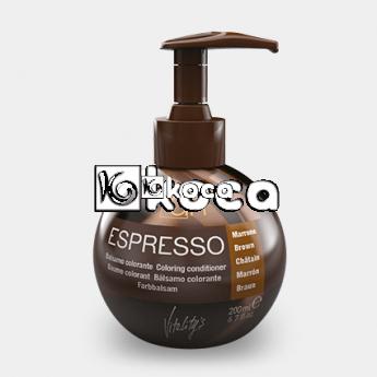 Vitality`s - Моментален балсам оцветител Espresso [200мл] - кафяво