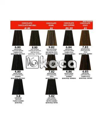 Indola Profession new - професионална боя за коса [60 мл] - шоколадови тонове