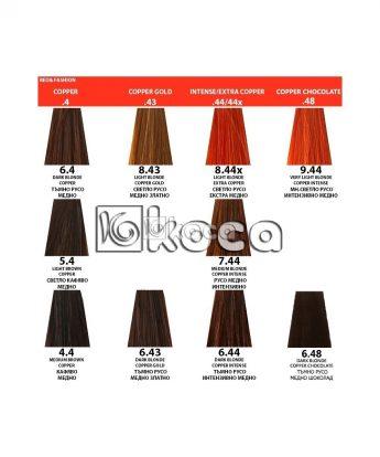 Indola Profession new - професионална боя за коса [60 мл] - медни тонове