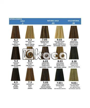 Indola Profession new - професионална боя за коса [60 мл] - златни тонове